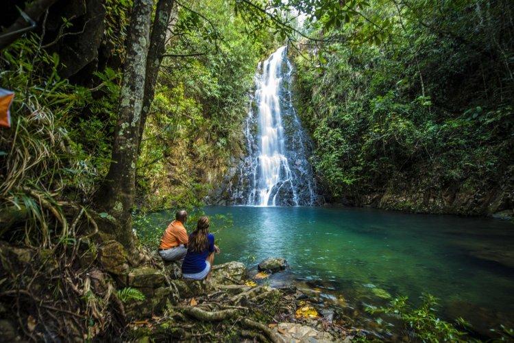Butterflu Falls, Mountain Pine Ridge Forest Reserve - © Belize Tourism Board
