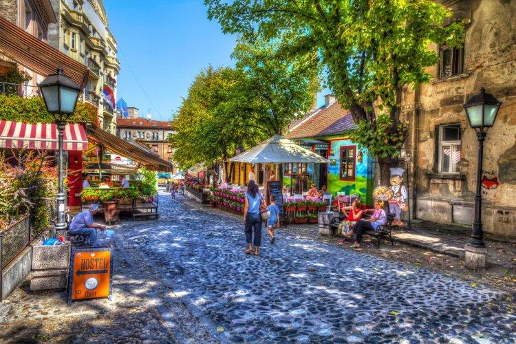 Le quartier de Skadarlija - © mareandmare - Shutterstock.com