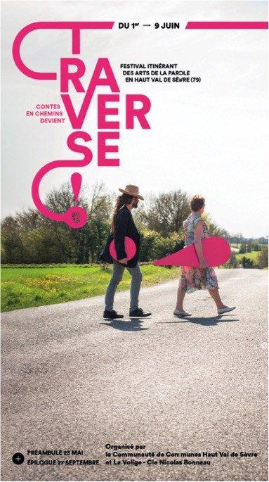 Festival Traverse - Festival Itinérant des Arts de la Parole en Haut Val de Sèvre