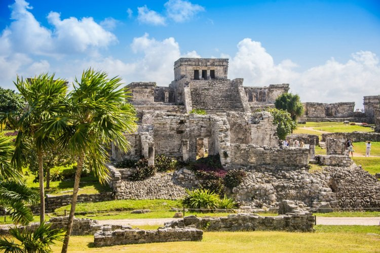 Les ruines mayas de Tulum - © Diego Cardini - istockphoto.com