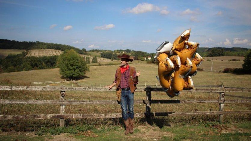 Les cowboys, 2016 - © Julie Chaffort