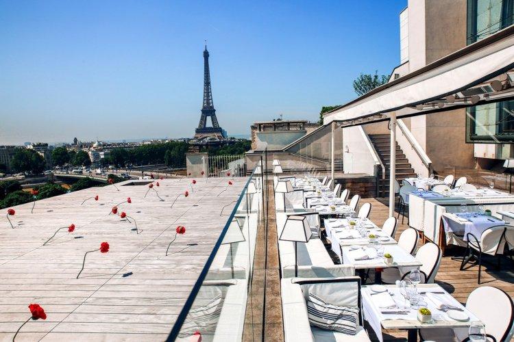 Terrasse Montaigne, Maison Blanche - © Maison Blanche