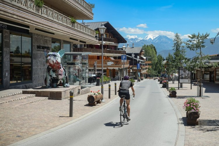 Parcours Vélos - © © CMTC (Crans-Montana Tourisme et Congrès)