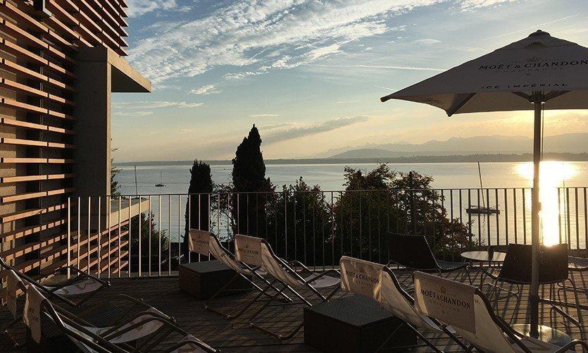 Panorama sur le Lac Léman - © Le Lake Geneva Hotel***S