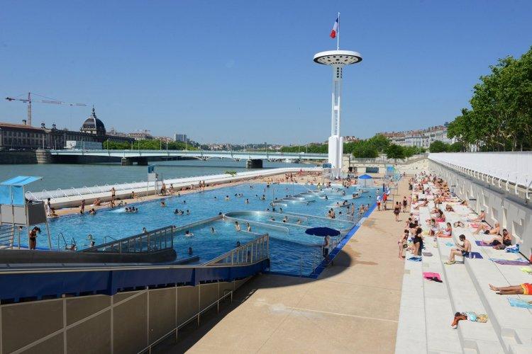 Centre nautique Tony Bertrand - © Muriel Chaulet - Ville de Lyon
