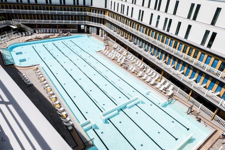 La piscine Molitor - © Sébastien Giraud