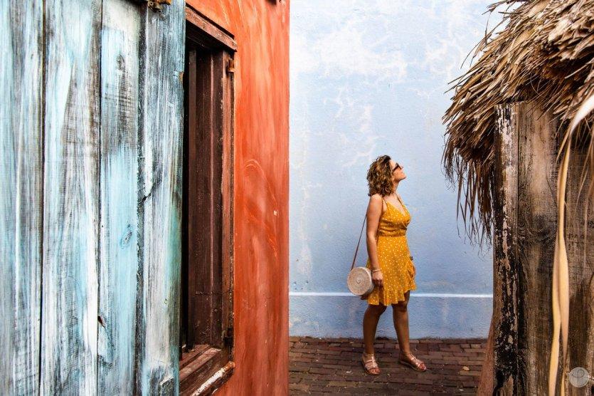 Sharone à Curaçao - © Povecham