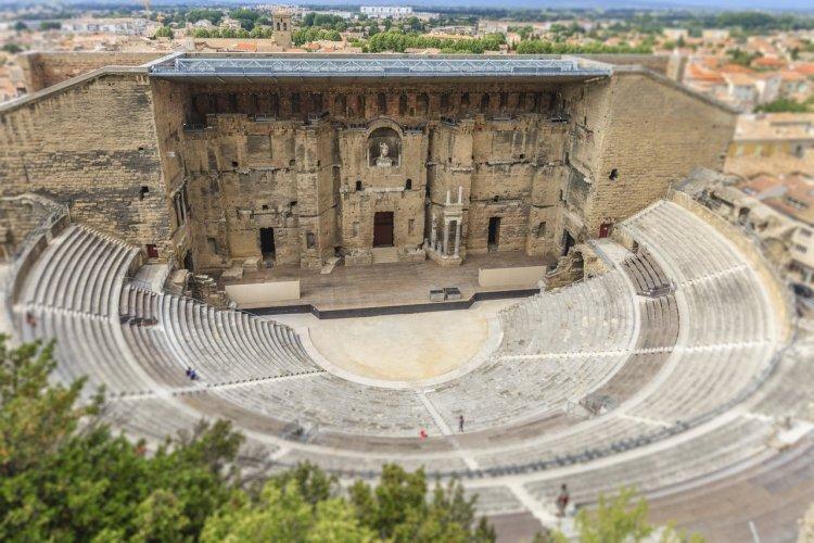 Le Théâtre antique d'Orange - © Flavio Vallenari