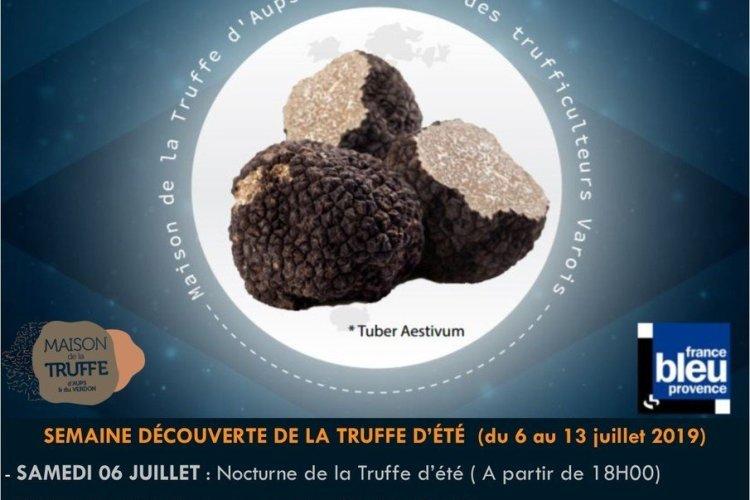 Semaine découverte de la Truffe d'été d'Aups - © Maison de la Truffe