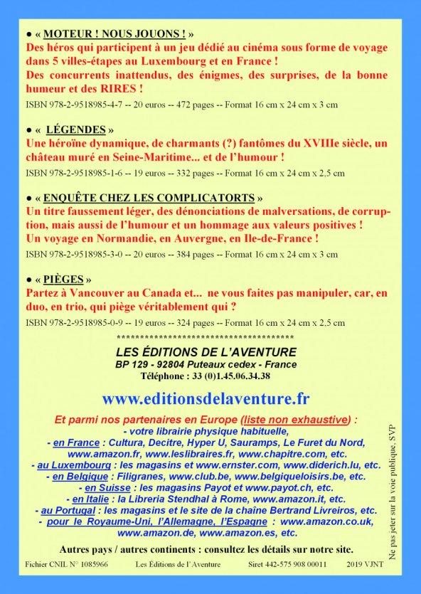 Vichy invite la romancière rouennaise Dominique Letellier à 2 événements