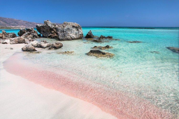 La plage d'Elafonissi, Crète - © Zakhnar Marunov - stock.adobe.com