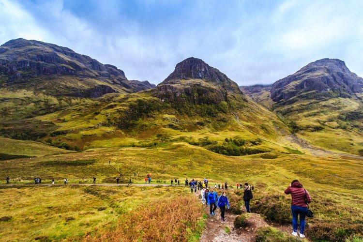 Balade dans la vallée de Glencoe - © Natakorn Sapermsap - shutterstock.com