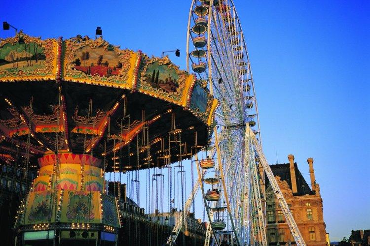 La grande roue du jardin des Tuileries - © Itzak Newmann - Iconotec
