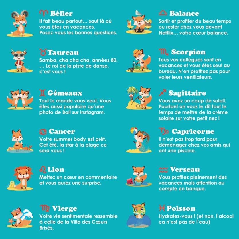 horoscope de l'été - © Petit Futé