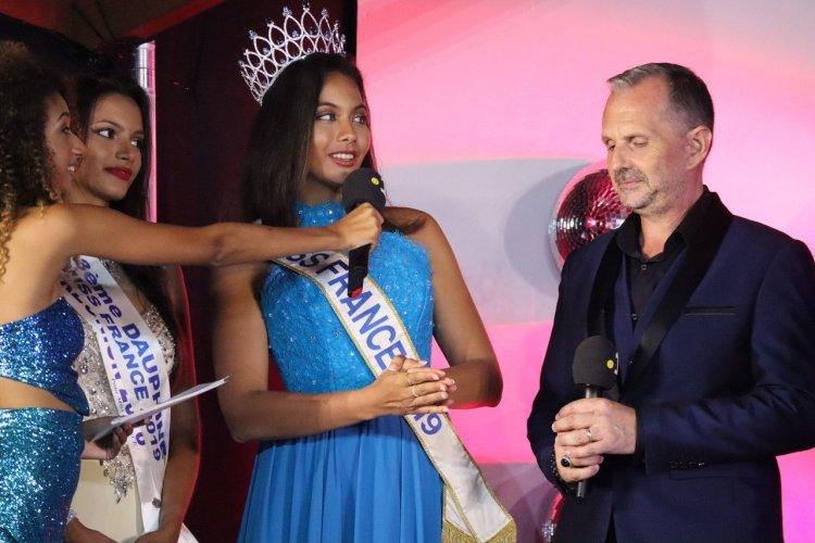 Frank Servel et Vaimalama Chaves (Miss Tahiti et Miss France 2019) - © Laurent BOSCHERO