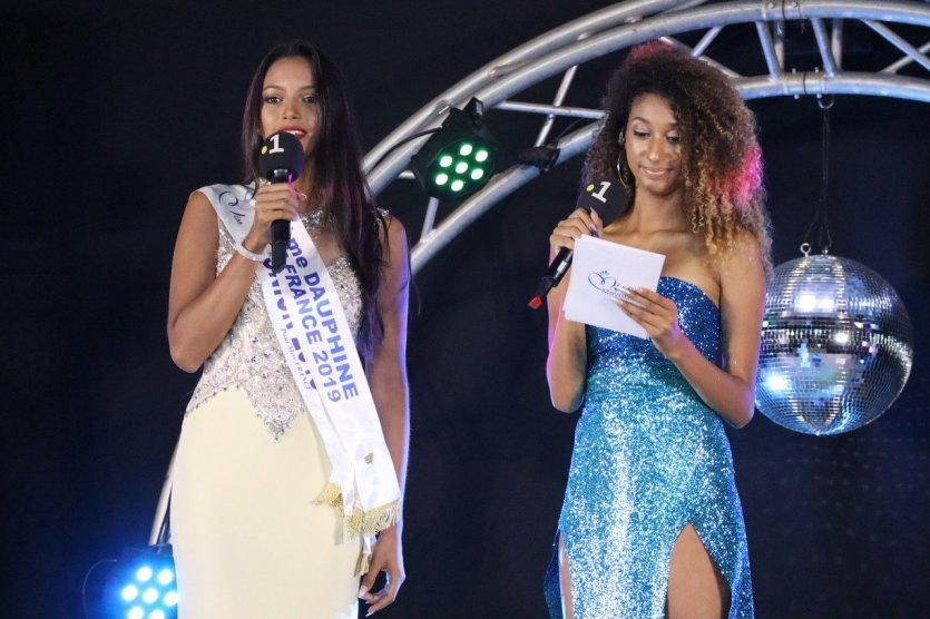 Morgane Soucramanien (Miss Réunion 2018) Alexandra Maroine - © Laurent BOSCHERO