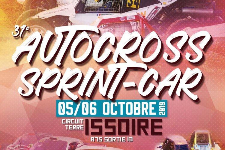 Calendrier Autocross Ouest 2019.Course Nationale Autocross Sprint Car D Issoire 5 6 Oct