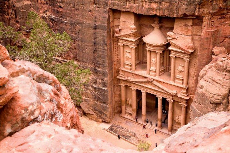 Le trésor de Petra, Jordanie - © Aivolie - Shutterstock.com