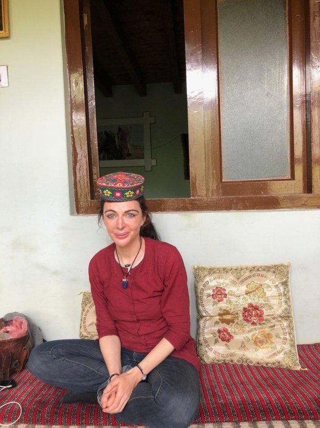 Portrait d'Oriane au Pakistan - © Oriane Zerah