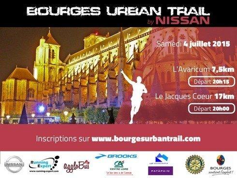 Le premier urban trail de Bourges - © La Ville de Bourges