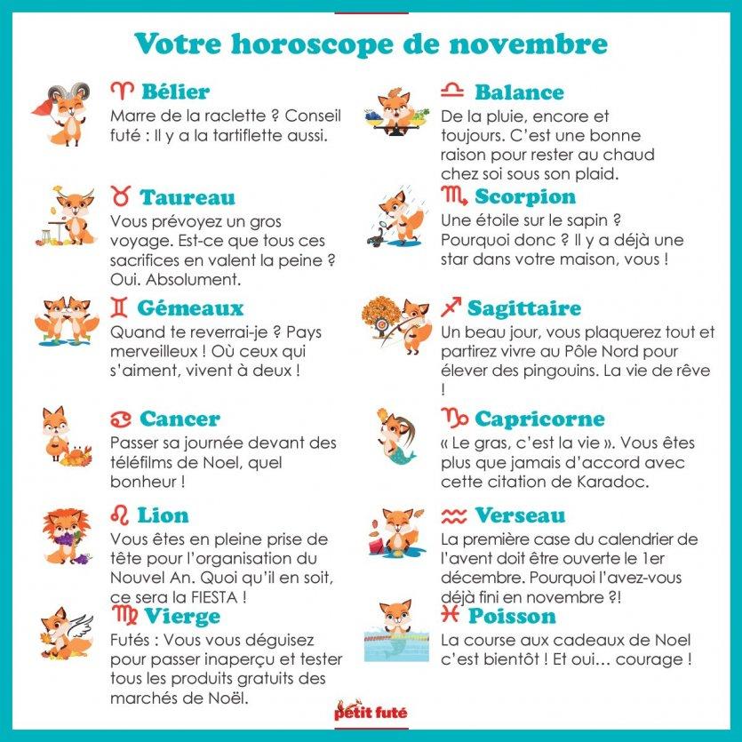 horoscope - © Petit Futé - Nouvelles éditions de l'université
