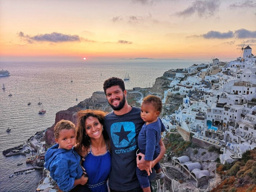 Elodie et sa famille en voyage - © Blog Couleur Voyage