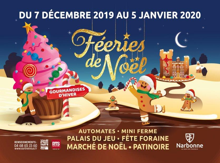 Office de tourisme de Narbonne - © Les Fééries de Noël de Narbonne 2019