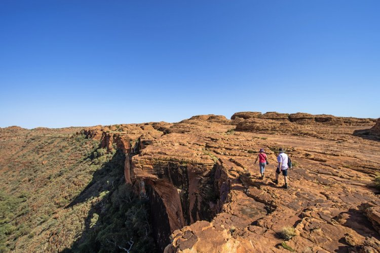 Kings Canyon, Watarrka National Park - © TourismNT