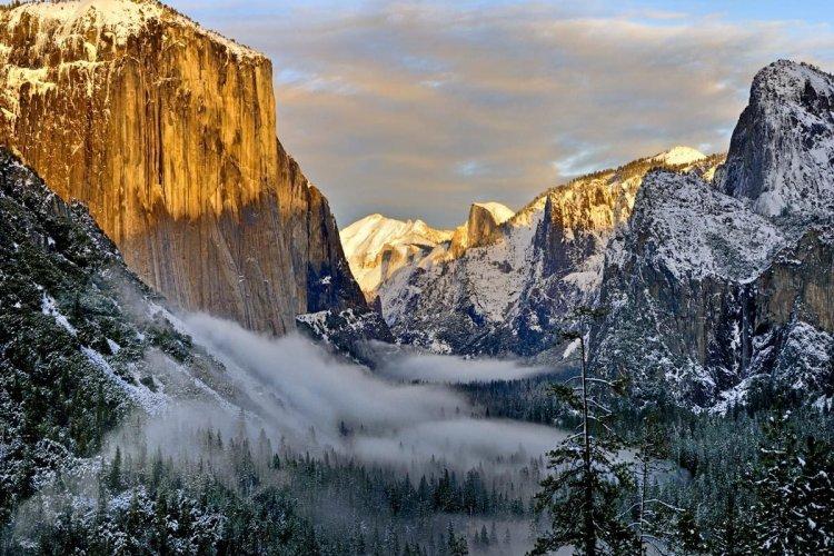 Parc Yosemite en hiver - © iStockPhoto, MBRubin