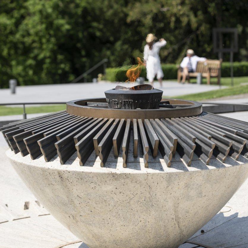 Flamme Olympique - © Musée Olympique Lausanne