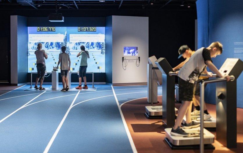 Piste Athlétisme Musée - © Musée Olympique Lausanne