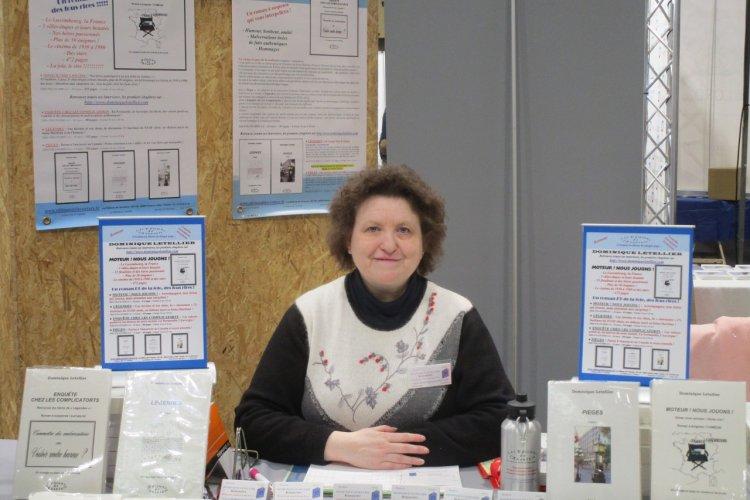Dominique Letellier signait ses 4 romans aux 25e Walfer Bicherdeeg à Walferdange (Grand-Duché de Luxembourg) les 16 et 17 novembre 2019