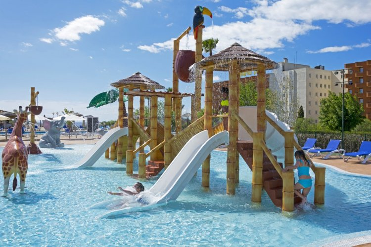 HSM Canarios Park Jungle Splash Pool - © Hotels Saint Michel