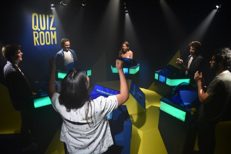 L'ambiance est à son comble dans la Quiz Room! - © Quiz Room Paris