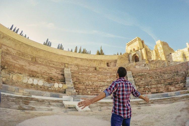 Théâtre romain de Carthagène. Région de Murcie. - © Adrián Madrid