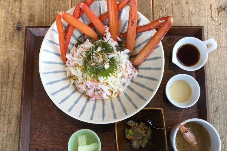 Salade de crabe au Kan Ichi - © Elena E.M