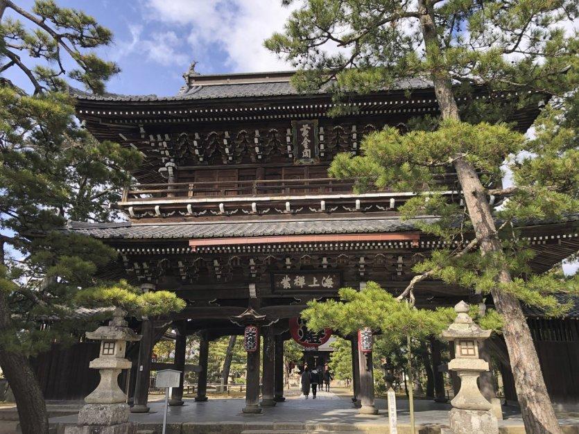Temple Chion-Ji Monji-Do - © Elena E.M