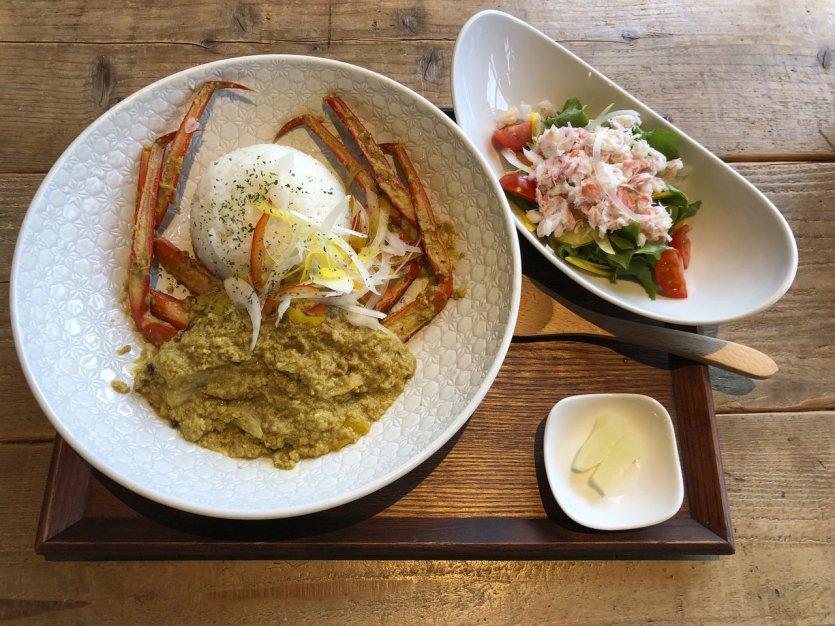 Curry de crabe au Kan Ichi - © Elena E.M