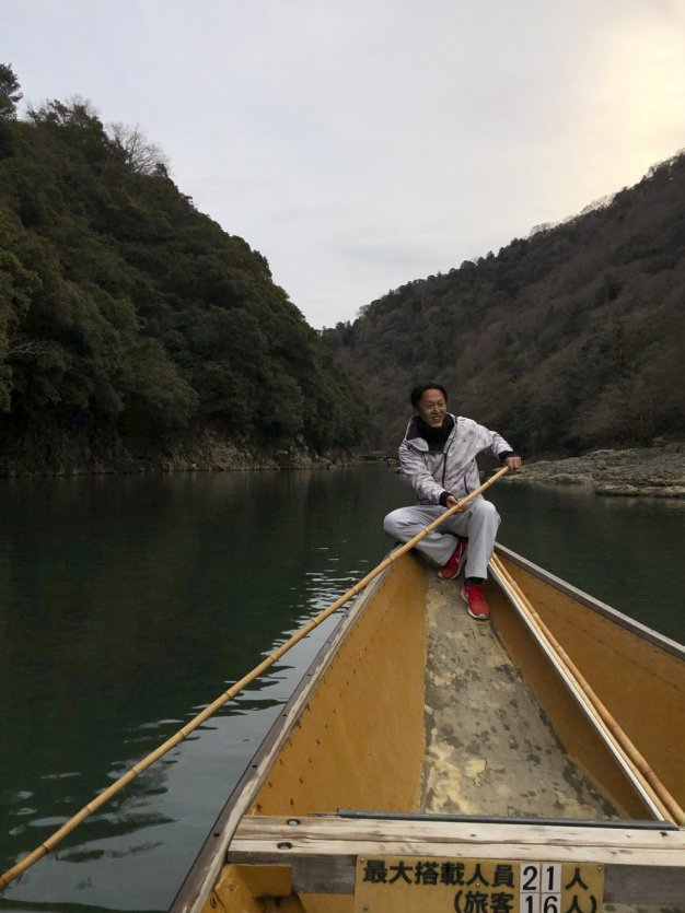 Croisière sur le rivière Hozo-gawa - © Elena E.M