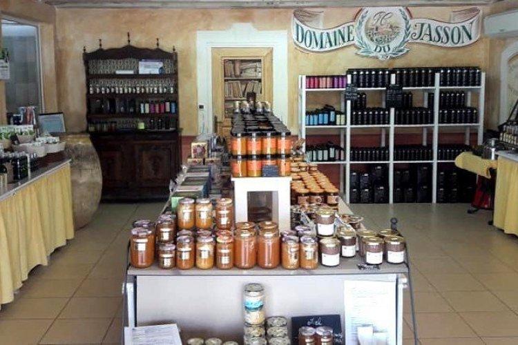 la boutique du Domaine du Jasson - © Domaine du Jasson