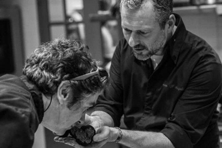La truffe sublimée par le Chef Bruno D'angelis - © Florian Domergue