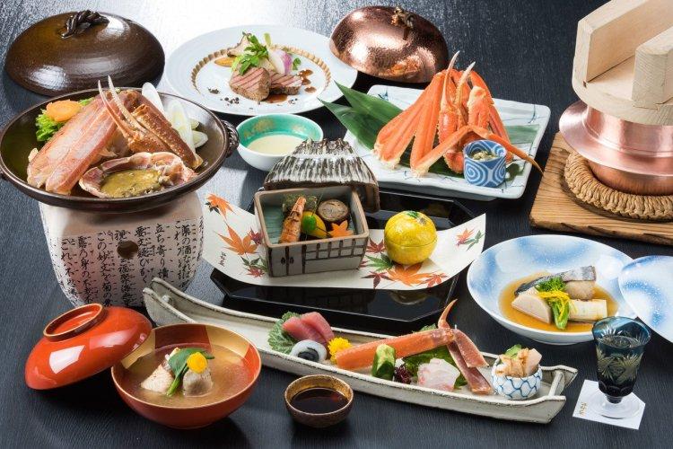 Cuisine de style Kaiseki au Nishimuraya Honkan - © Nishimuraya Kinosaki Onsen