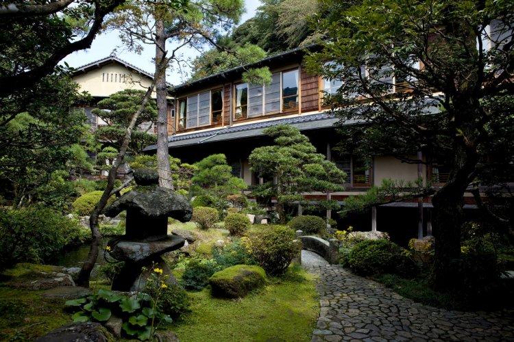 Jardin japonais de Nishimuraya Honkan - © Nishimuraya Kinosaki Onsen