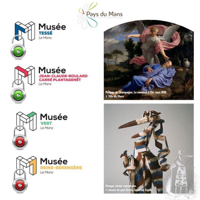 Réouverture des musées du Mans - © J2M Com