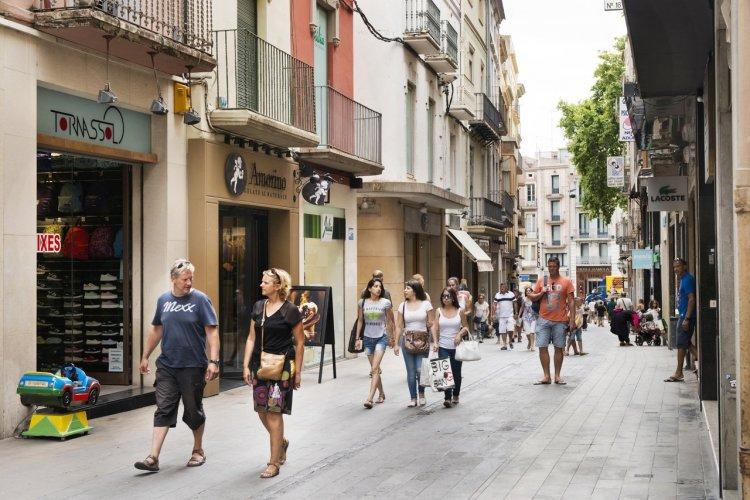 Rue Commerçante Figueres - © DR