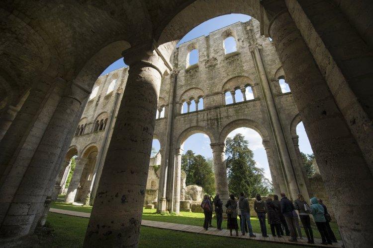 L'abbaye de Jumièges - © DR