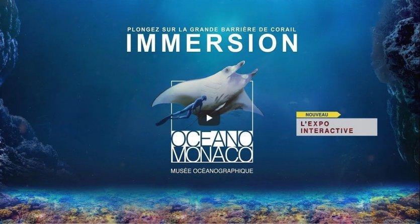 IMMERSION - © Musée Océanographique de Monaco
