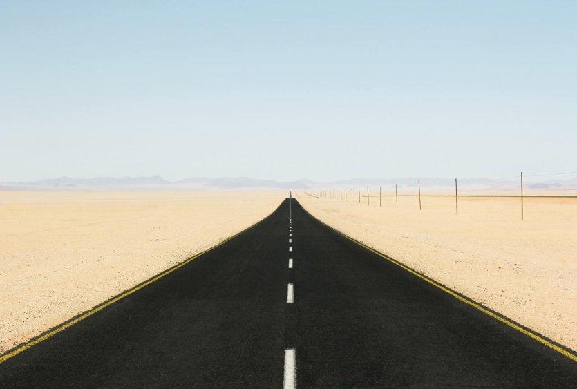 Route de Namibie avec Damarana - © Damarana