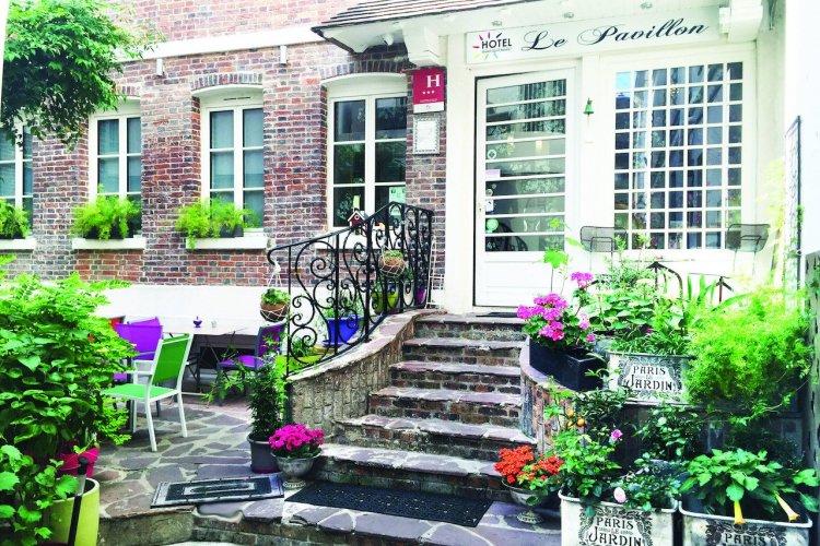 Hotel Pavillon Paris - label vert Green pearl - © Green pearl