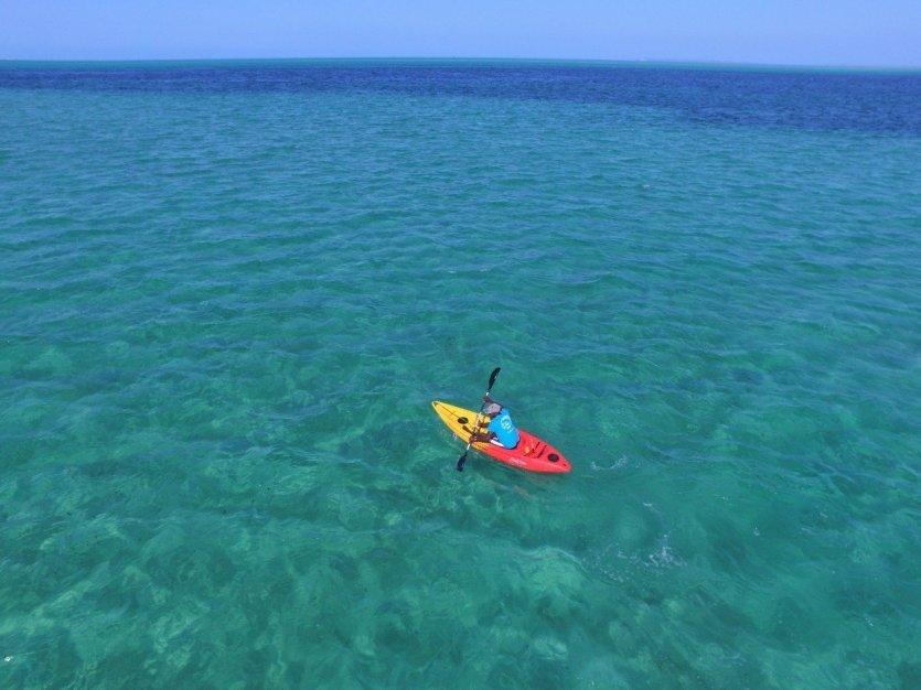 de nombreuses activités nautiques sont proposées sur site - © Alizée VALLE